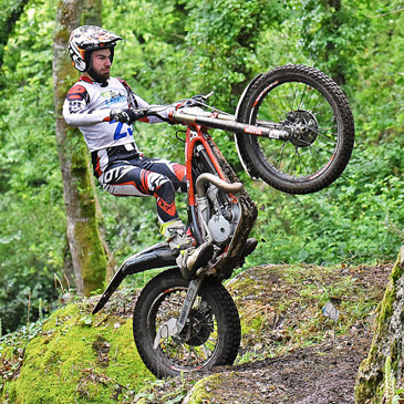 Trial-Motorrad